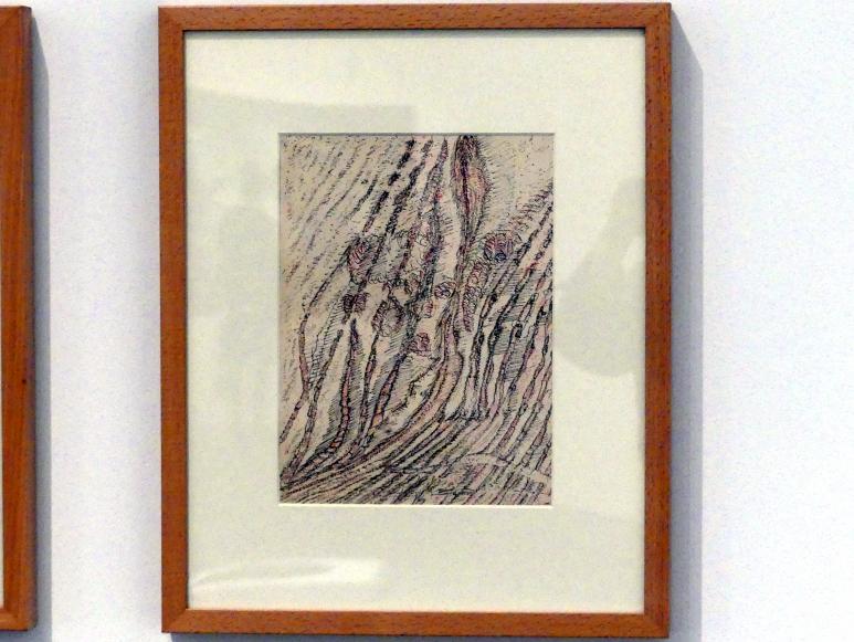 Henri Michaux: Ohne Titel, 1956