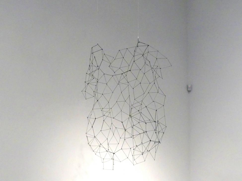 Gego (Gertrud Louise Goldschmidt): Projekt Lausanne (Modell), 1974