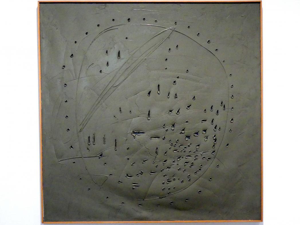Lucio Fontana: Räumliches Konzept, 1960