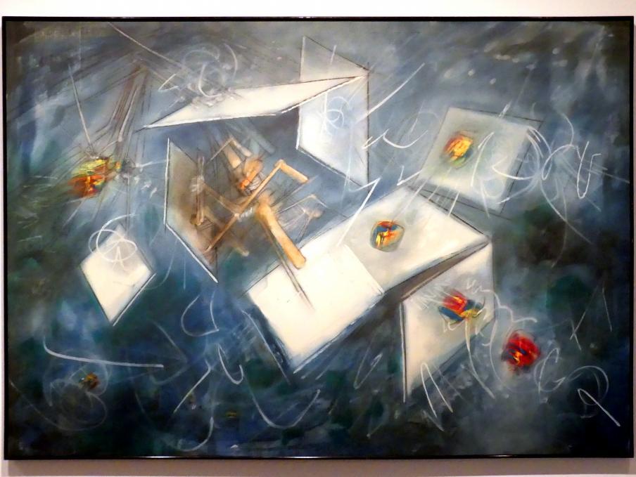 Roberto Matta: Evolution eines Ziels, 1956
