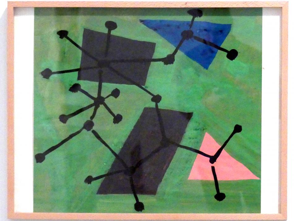 Constant (Constant Anton Nieuwenhuys): Stoffdesign Saeta, um 1956