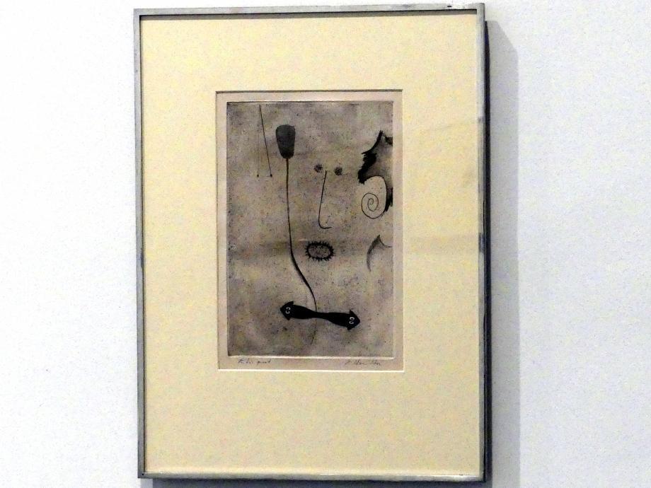 Richard Hamilton: Selbstporträt b, 1951