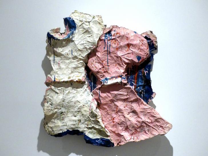 Claes Oldenburg: Zwei Mädchenkleider (Mädchenkleider wehen im Wind), 1961
