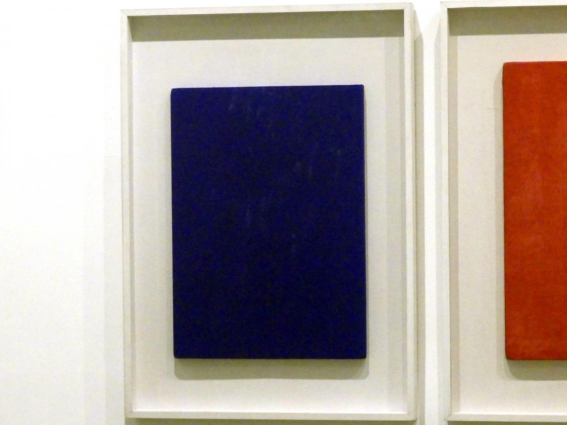 Yves Klein: Ohne Titel (Monochrom Blau)-IKB 181, 1956