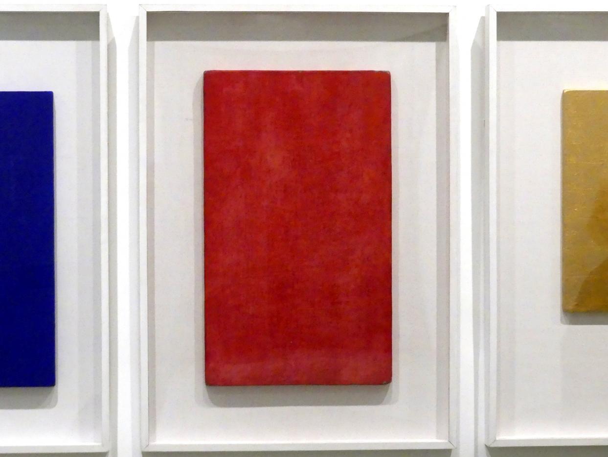 Yves Klein: Ohne Titel (Monochrom Rosa)-MP 7, 1957