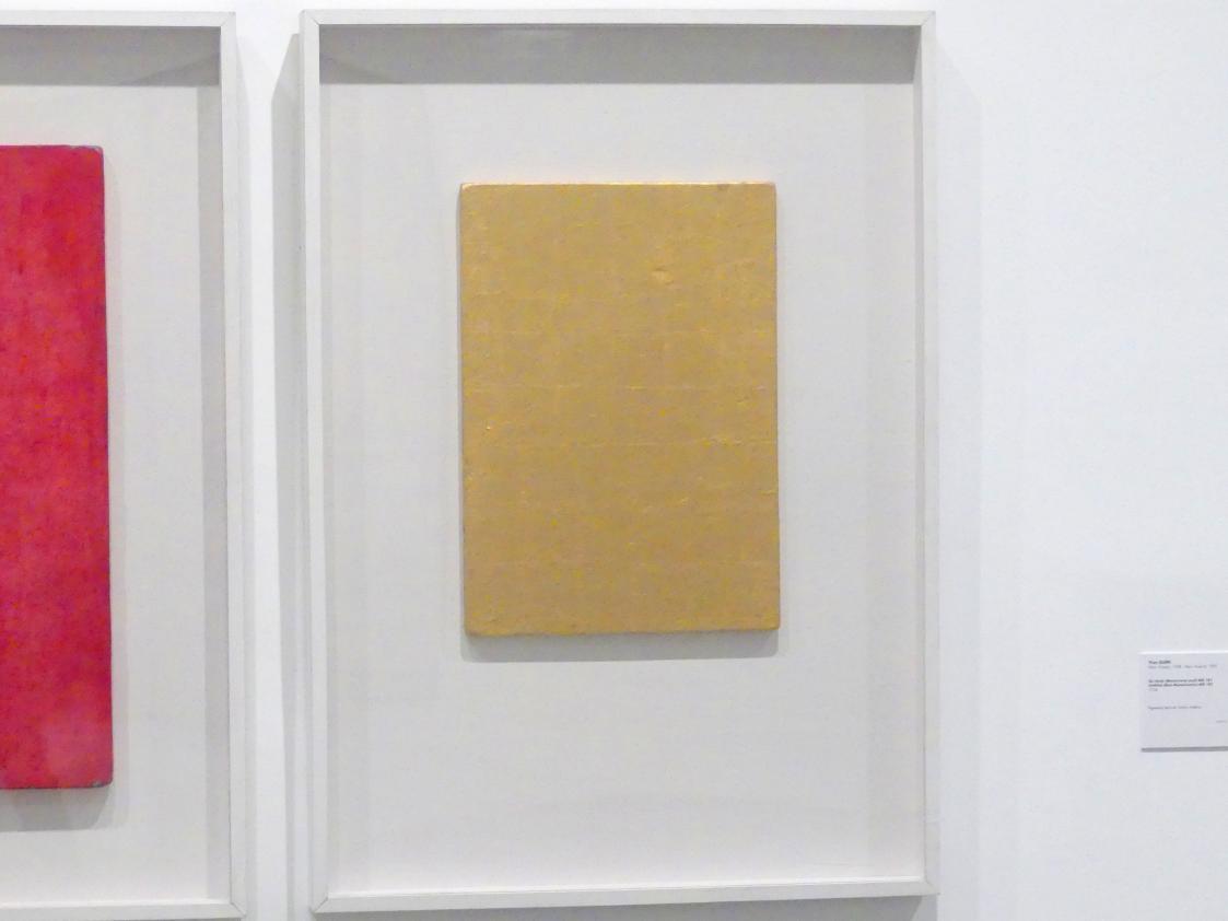 Yves Klein: Monochrom Gold ohne Titel (MG 23), 1961