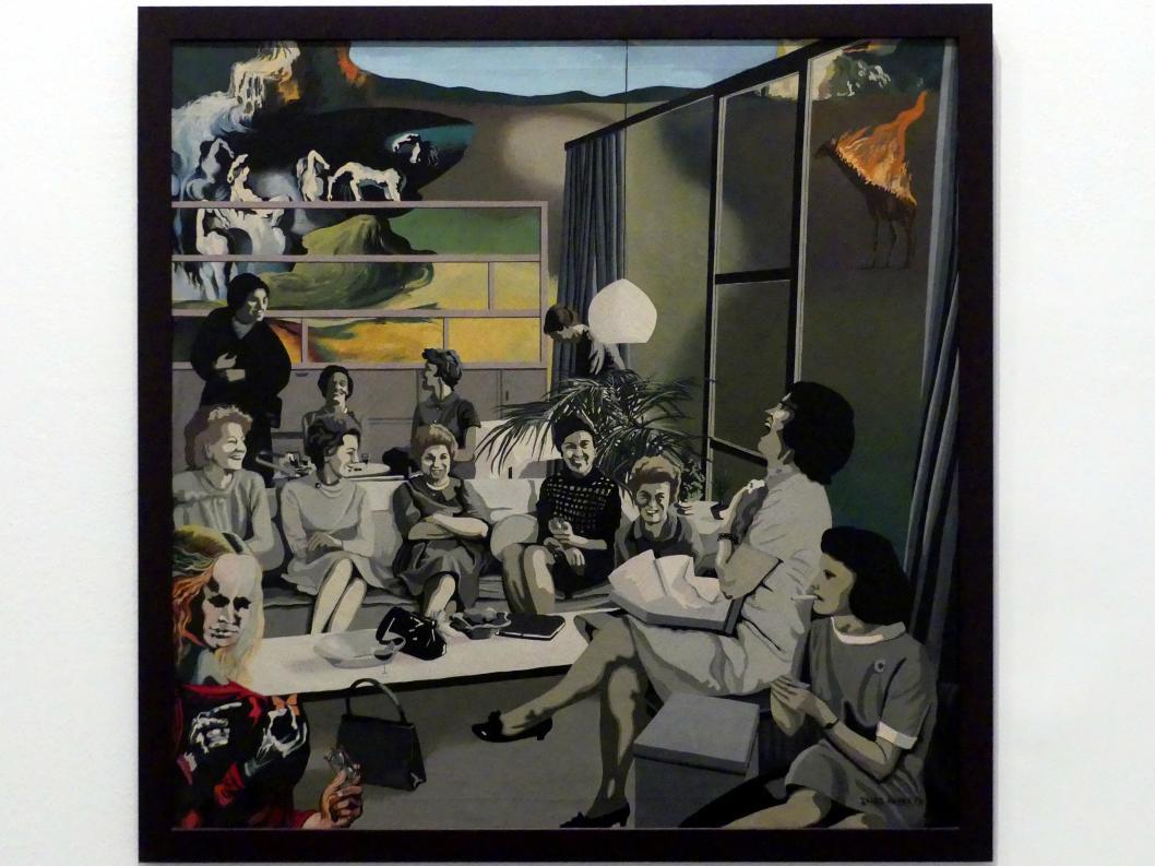 Isabel Oliver Cuevas: Glückliches Treffen. Serie Die Frau (1970-1973), 1971