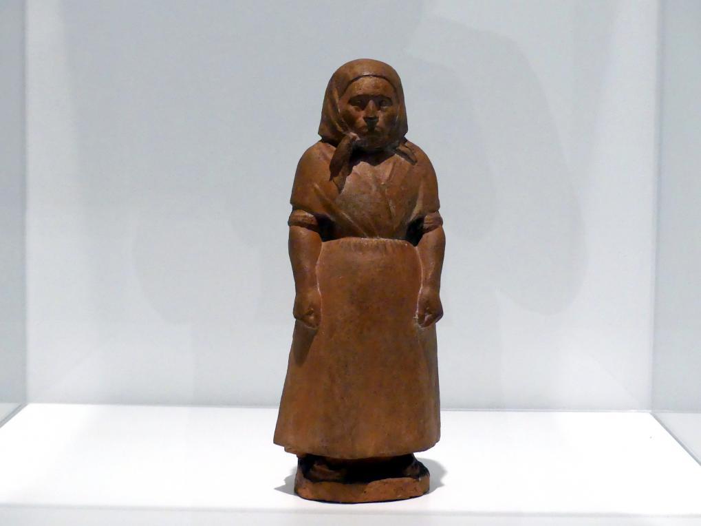 Manolo Martínez Hugué: Alte katalanische Frau, 1910 - 1911