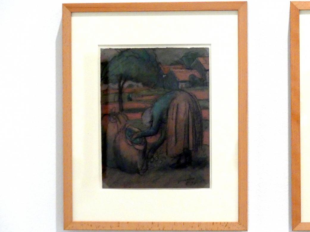 Julio González: Apfelernte, 1919