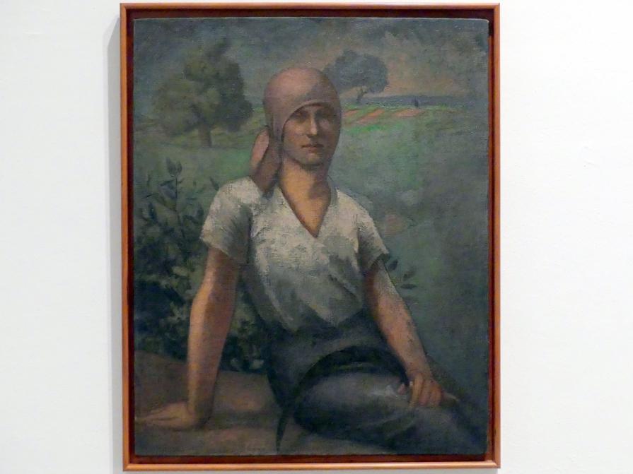 Julio González: Sitzende Bäuerin, um 1920 - 1925