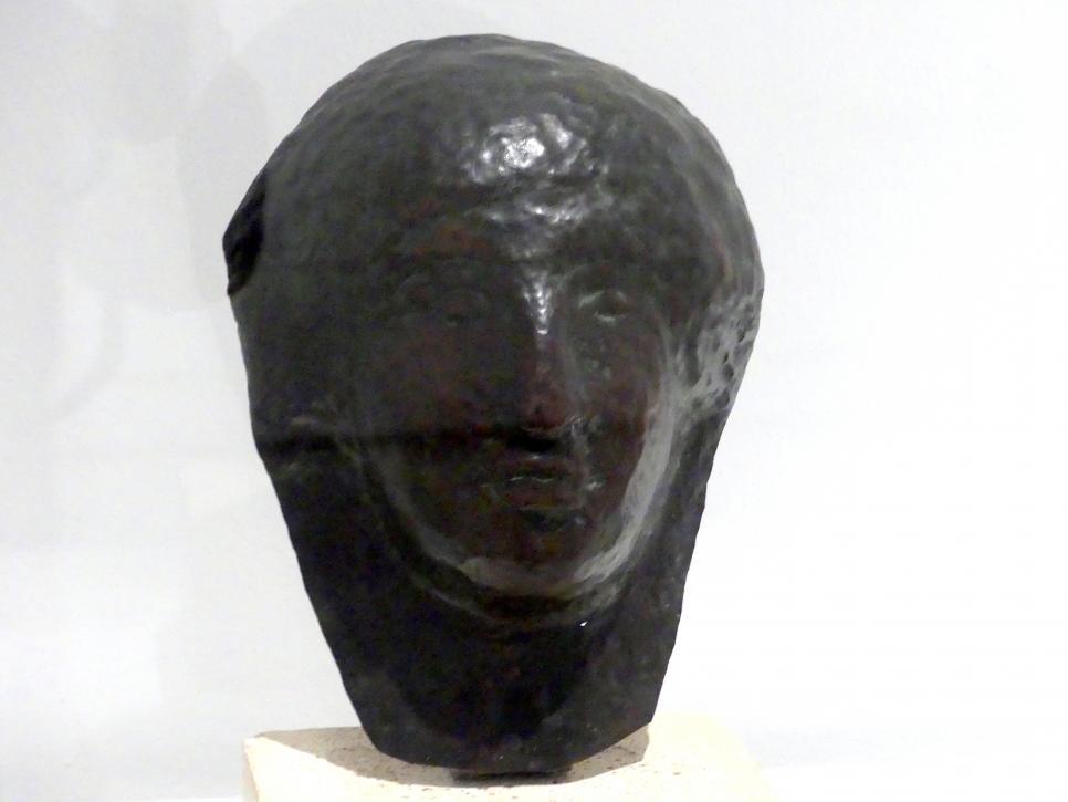 Julio González: Frauenkopf, bekannt als Ägyptischer Kopf, 1912 - 1914
