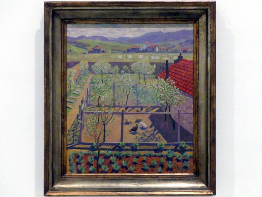 Darío de Regoyos: Hühnerstall, 1912