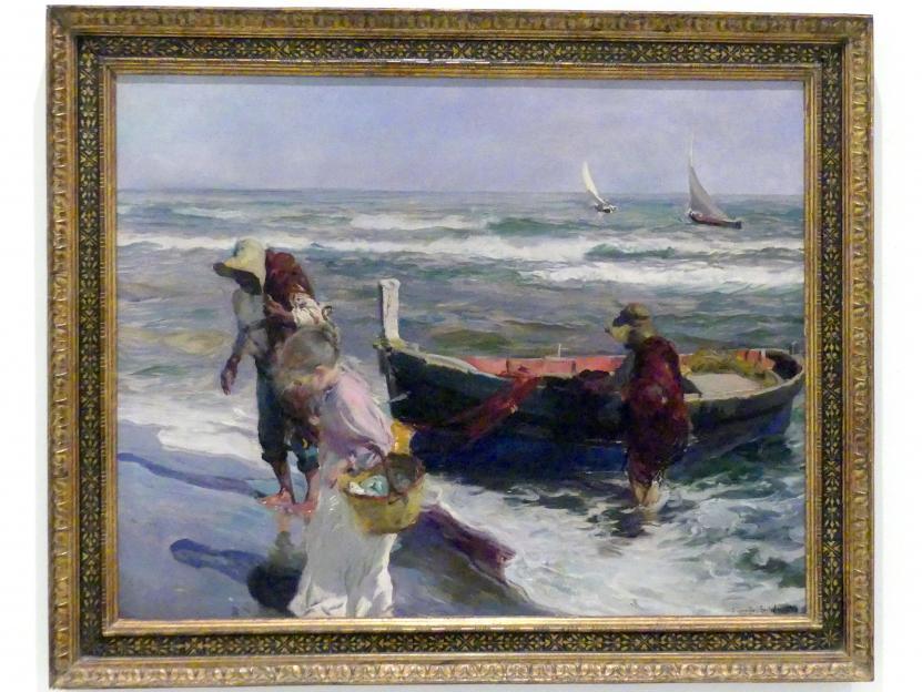 Joaquín Sorolla: Rückkehr vom Fischen, 1899