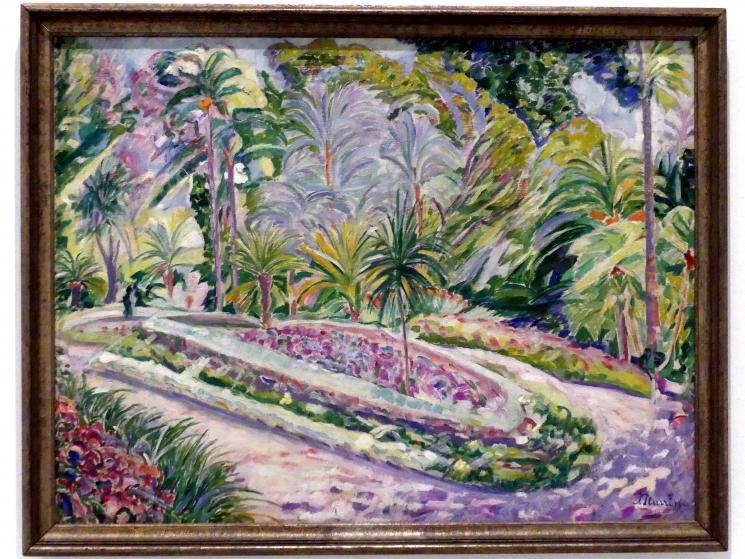 Francisco Iturrino: Botanischer Garten von Malaga, um 1916