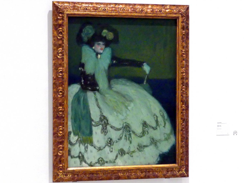 Pablo Picasso: Frau in Blau, 1901