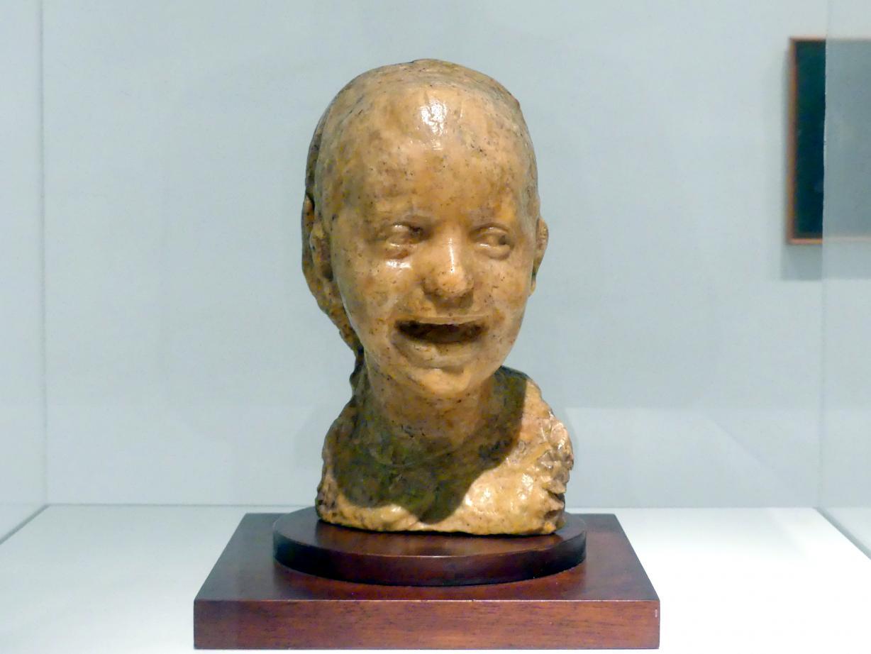 Medardo Rosso: Lachendes Mädchen, um 1906