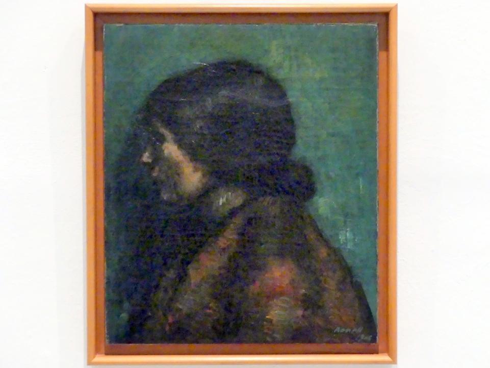 Isidre Nonell: Kopf einer Zigeunerin, 1906