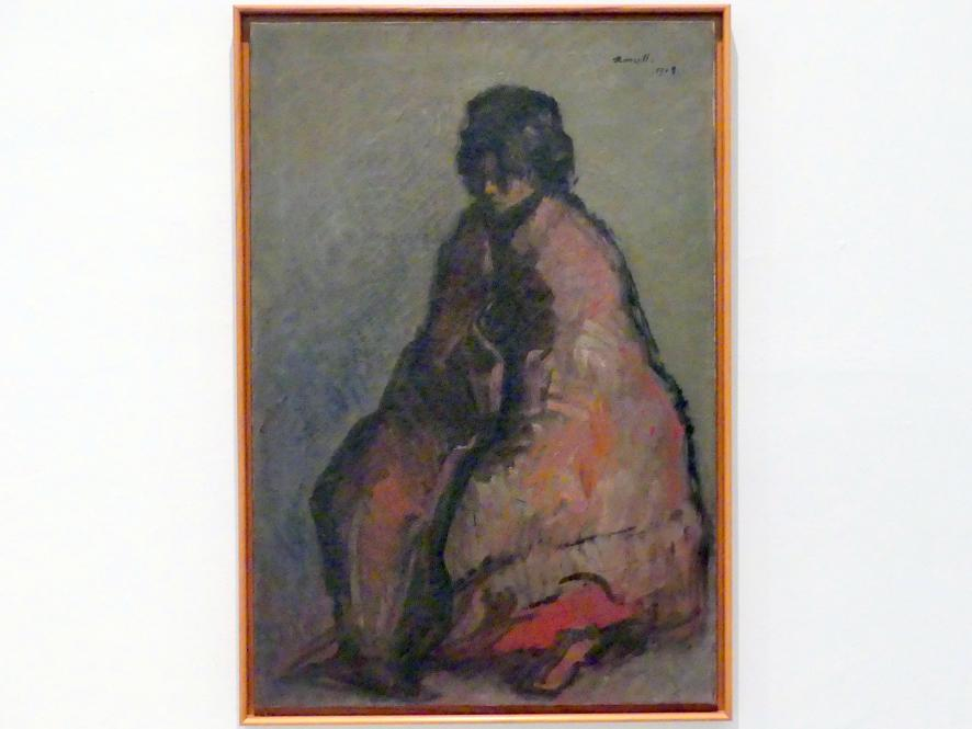 Isidre Nonell: Niebit, 1909