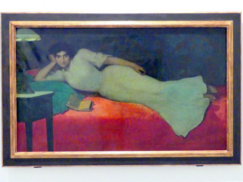 Julio Romero de Torres: Lektüre, um 1901 - 1902