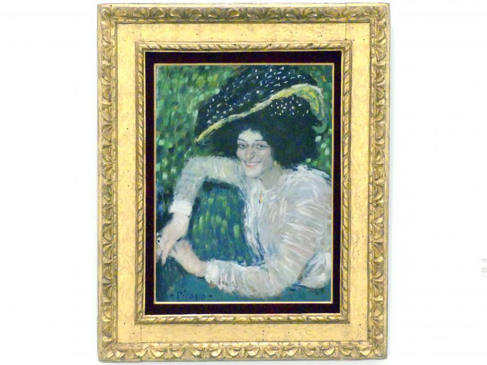 Pablo Picasso: Porträt einer lächelnden Frau, 1901