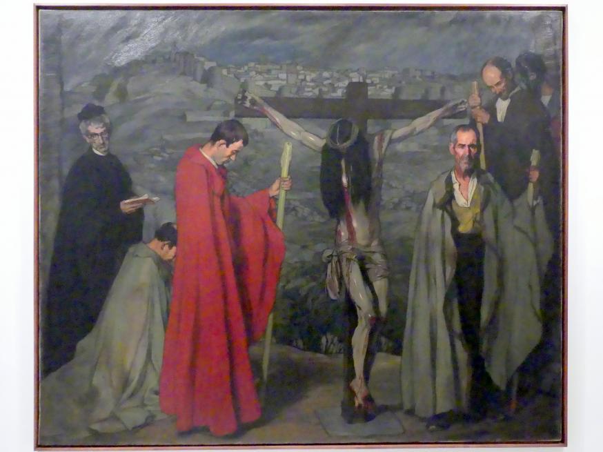 Ignacio Zuloaga: Christus vom Blut, 1911