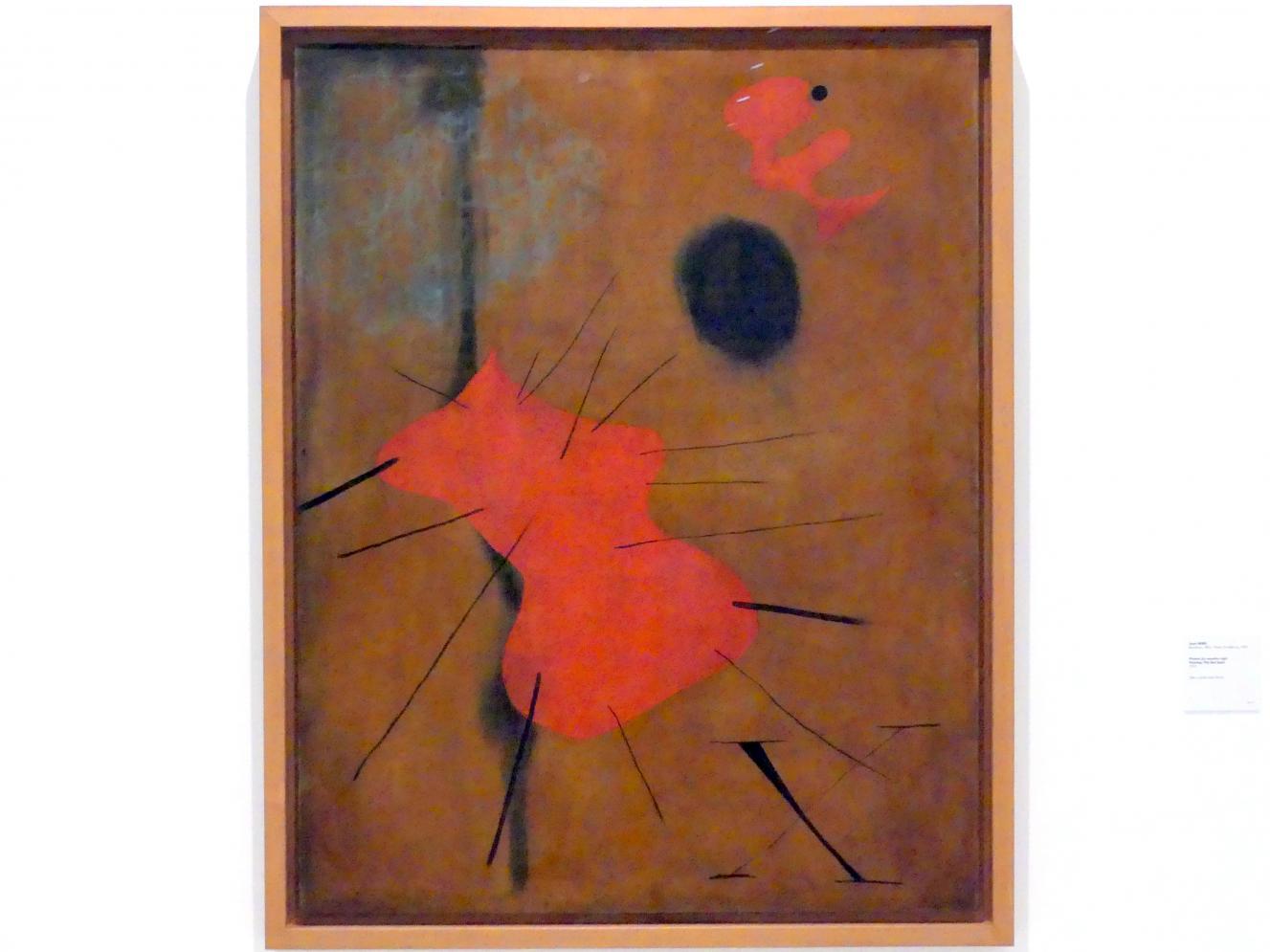 Joan Miró: Malerei (Roter Klecks), 1925