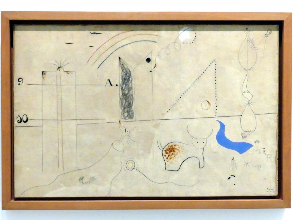 Joan Miró: Pastoral, 1923 - 1924
