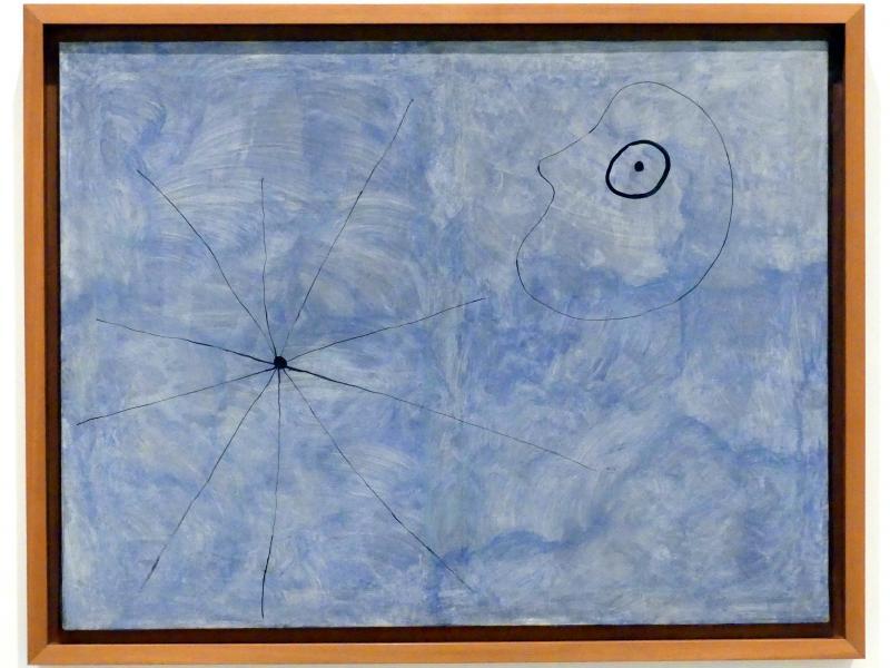 Joan Miró: Gemälde (Kopf und Spinne), 1925