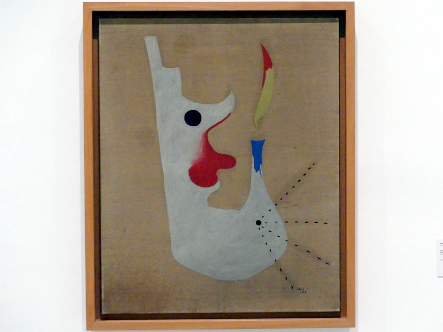 Joan Miró: Gemälde (Kopf eines Rauchers), 1925