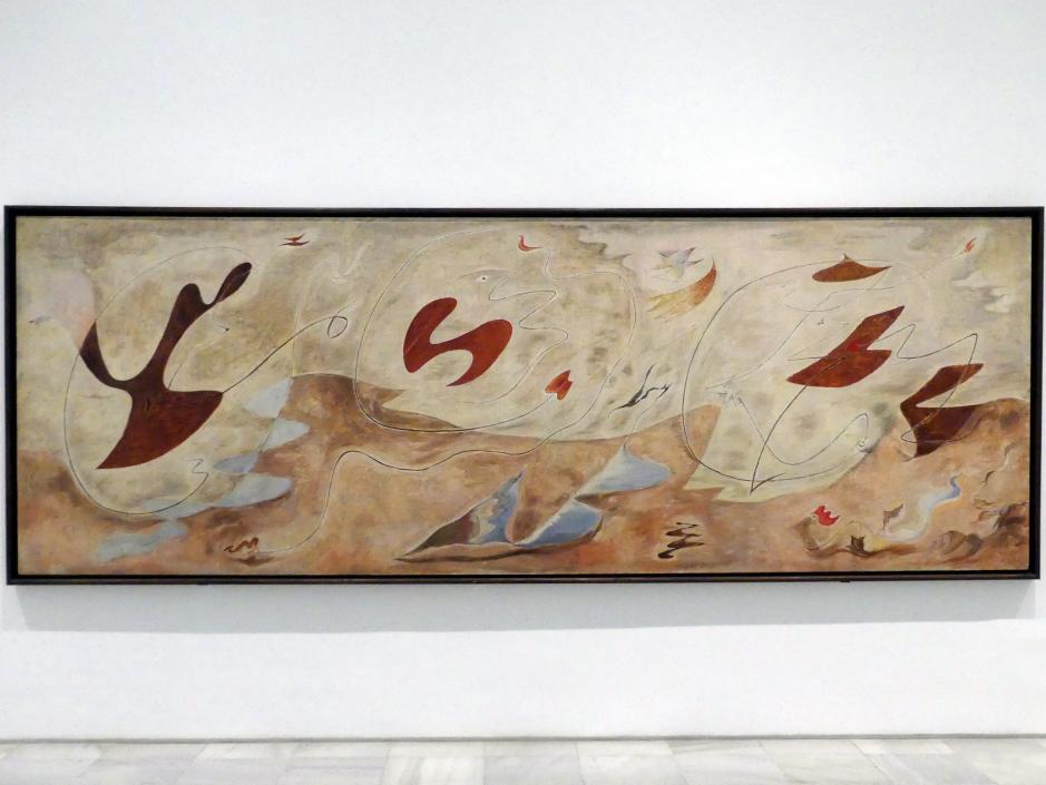 André Masson: Die Familie im Zustand der Verwandlung (Wandverzierung), 1929