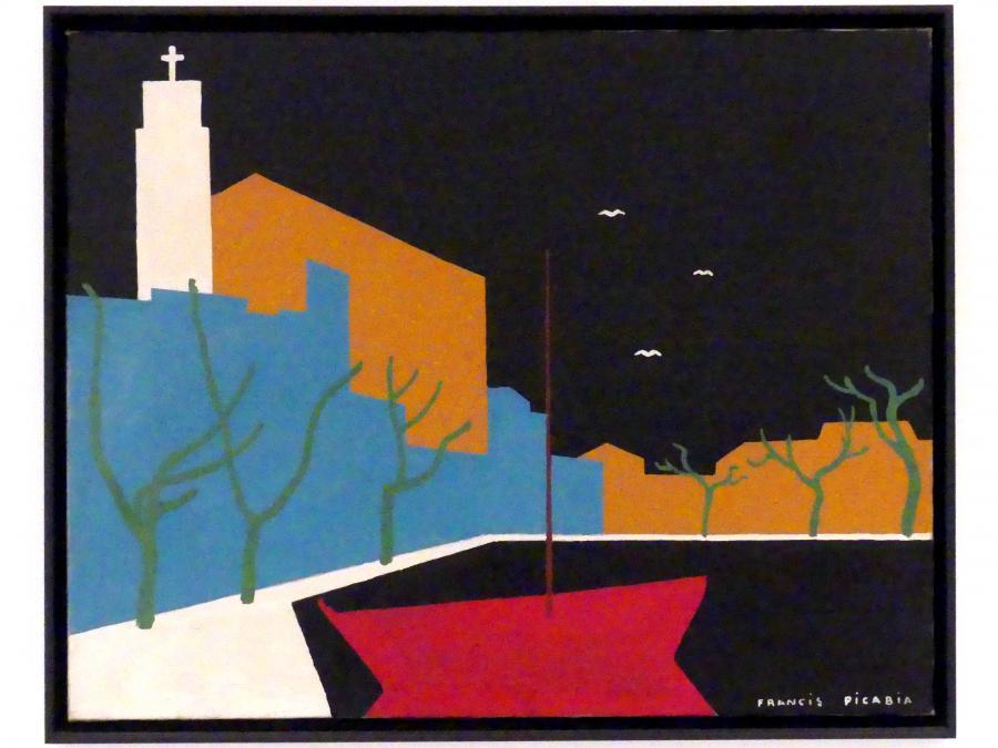 Francis Picabia: Der Hafen, 1922 - 1923