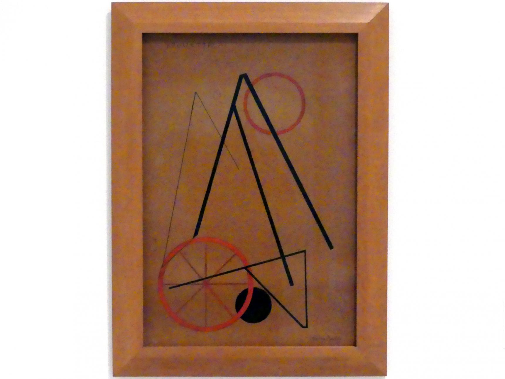 Francis Picabia: Schubkarre, um 1922