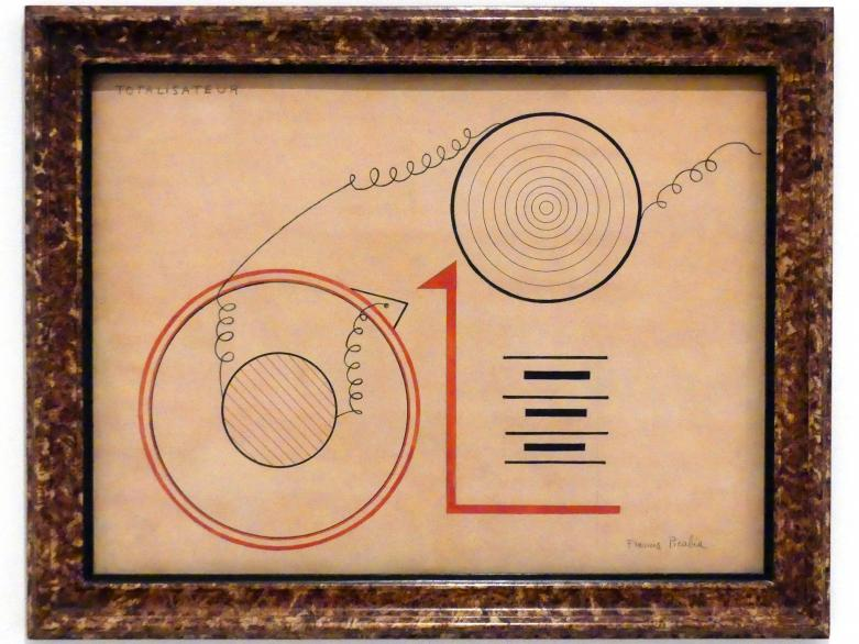 Francis Picabia: Totalisator, 1919