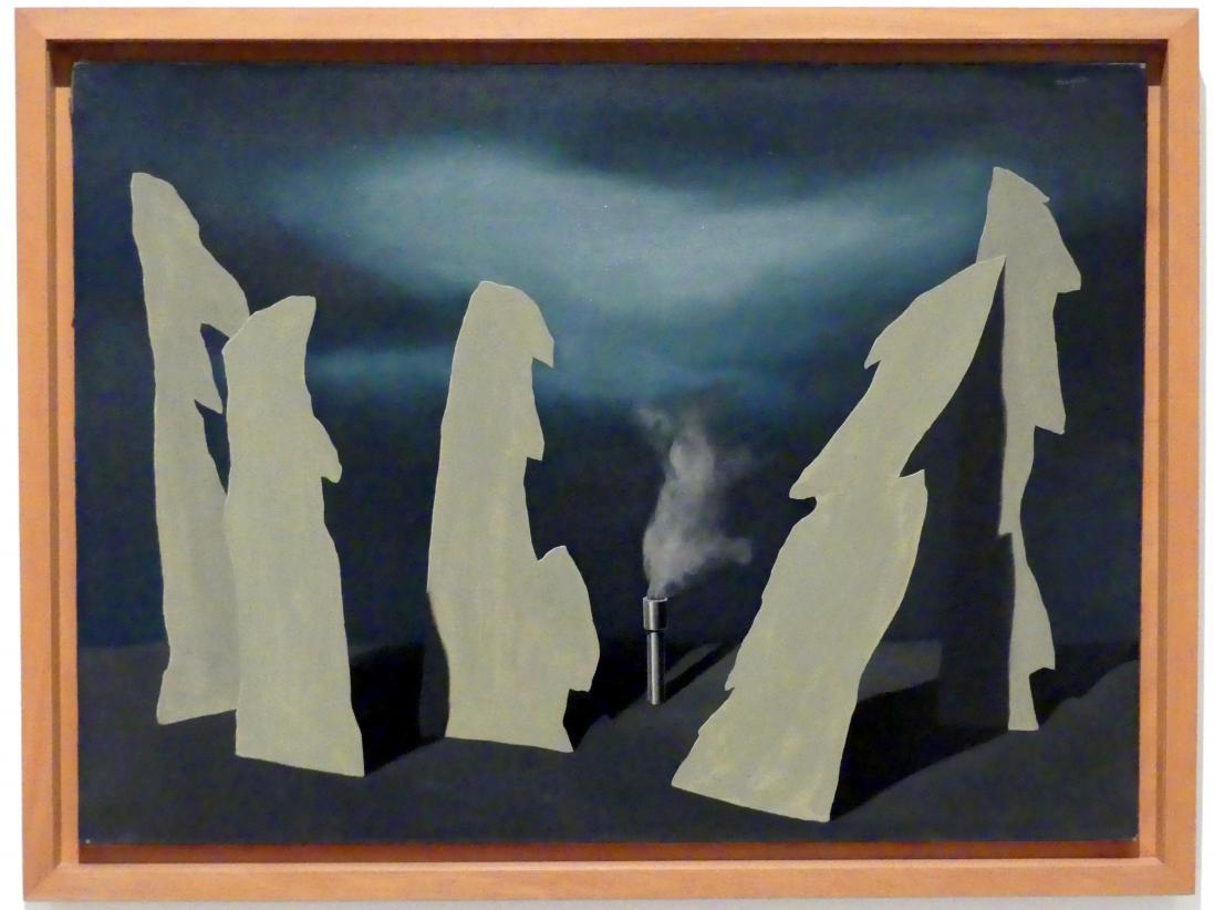 René Magritte: Geheimnis der Prozession, 1927