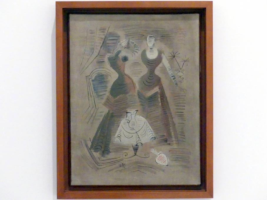 Ramón Gaya: Zwei Frauen, 1928