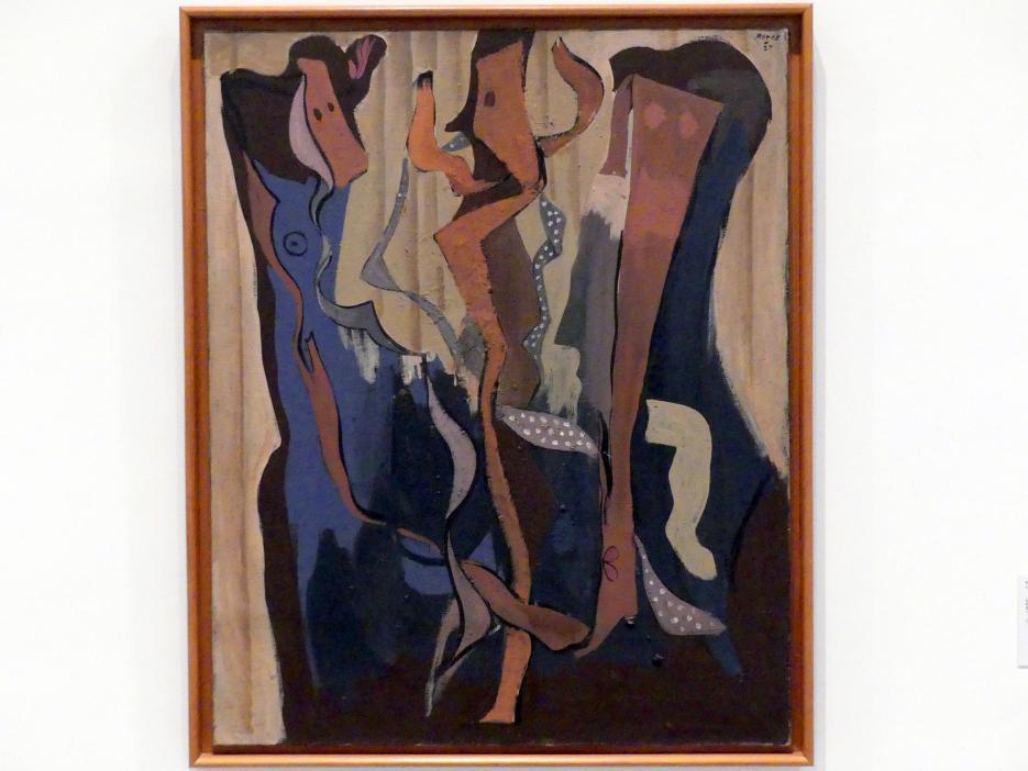 Francisco Bores: Tanz der Krawatten, 1927
