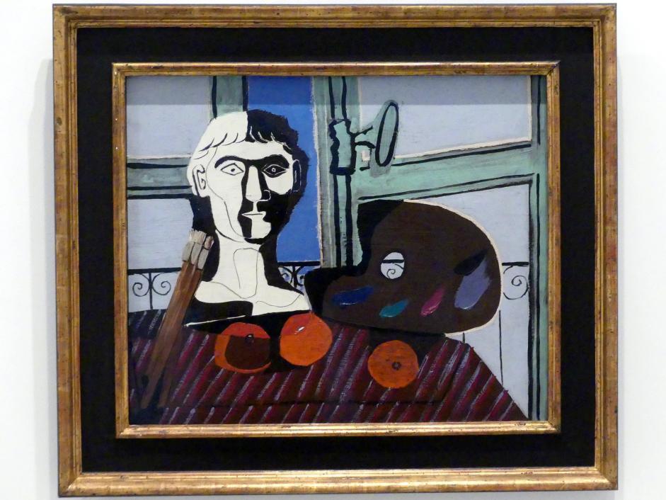 Pablo Picasso: Büste und Palette, 1925