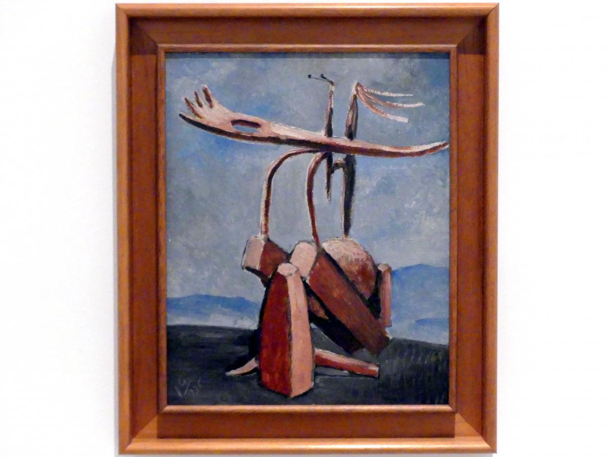 Julio González: Abstrakte räumliche Persönlichkeit, 1936