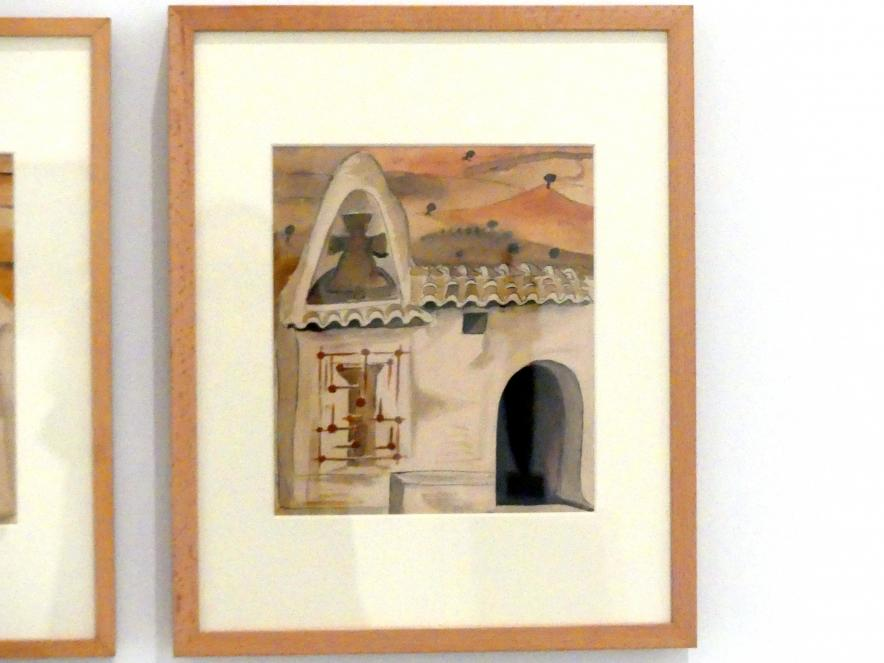 """Alberto Sánchez Pérez: Entwurf für die Seitendekoration des Dramas """"Fuenteovejuna"""", 1932 - 1933"""