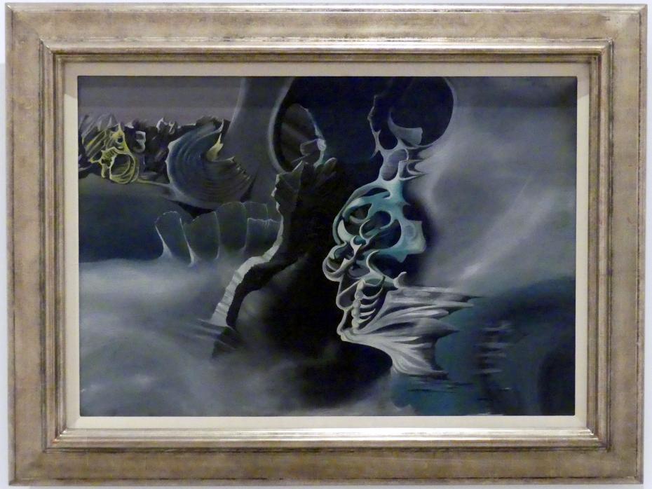 Óscar Domínguez: Kosmische Landschaft, 1938
