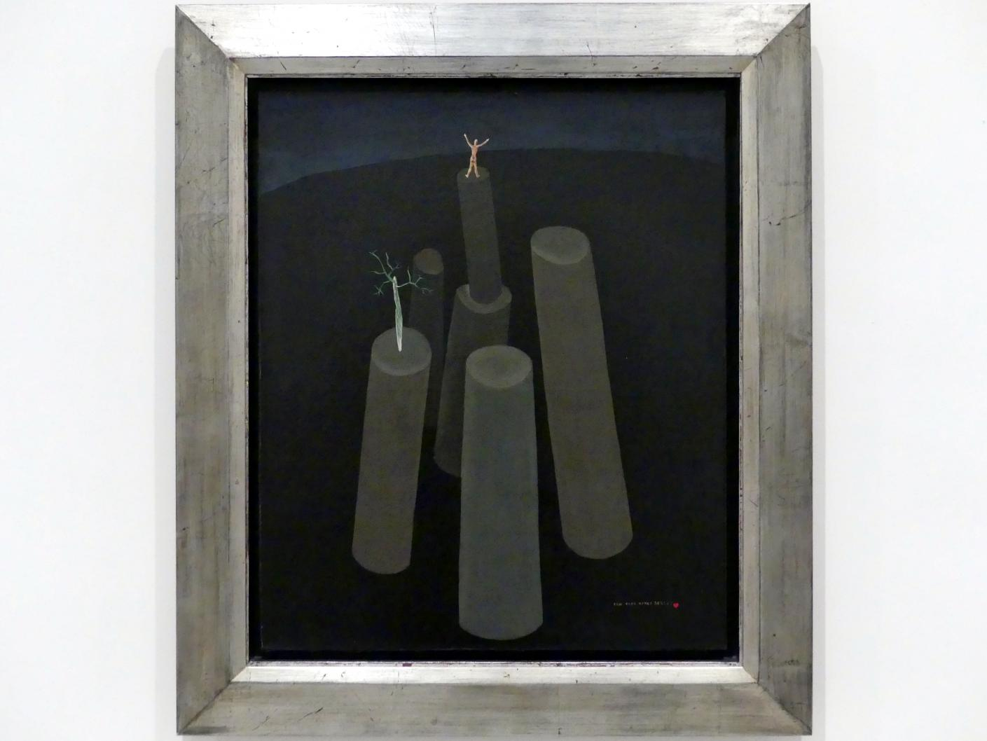 Victor Brauner: Surreale Landschaft, 1930