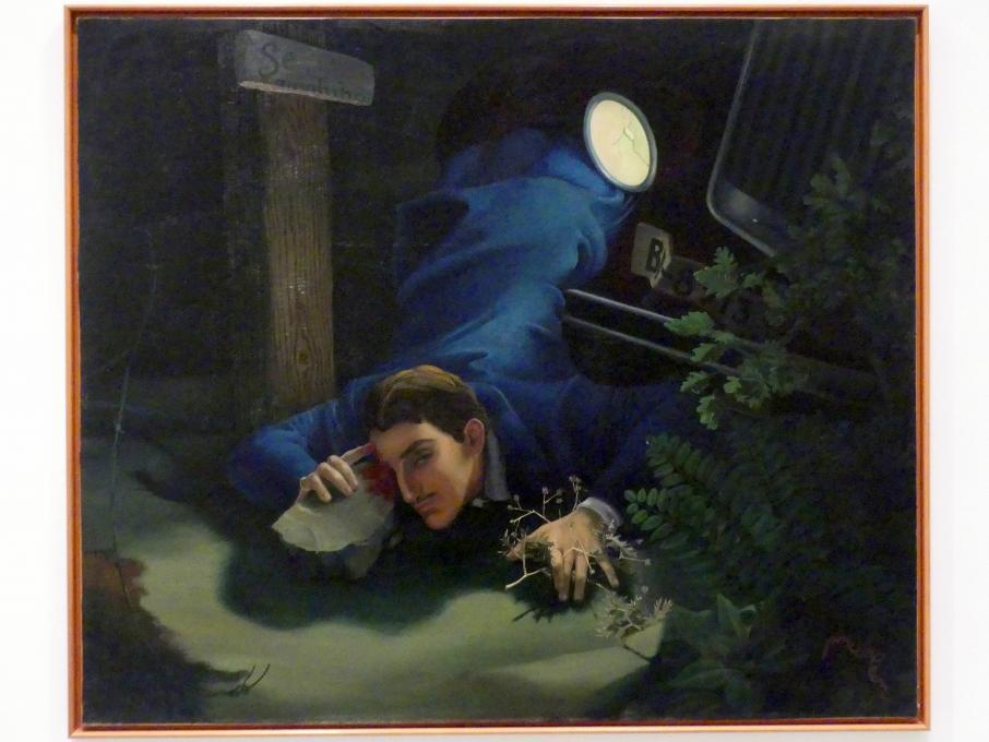 Alfonso Ponce de León: Selbstporträt, 1936