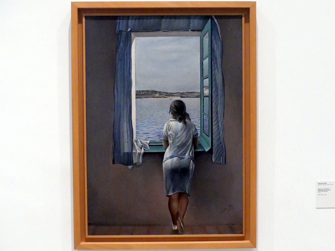 Salvador Dalí: Mädchen am Fenster, 1925