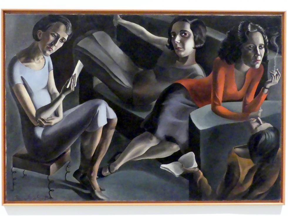 Ángeles Santos Torroella: Geselliges Beisammensein, 1929