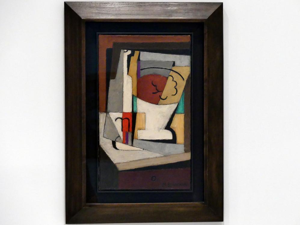 María Gutiérrez Blanchard: Kubistisches Stillleben, um 1919