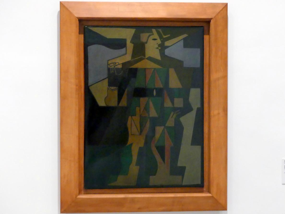 Juan Gris: Harlekin, 1918