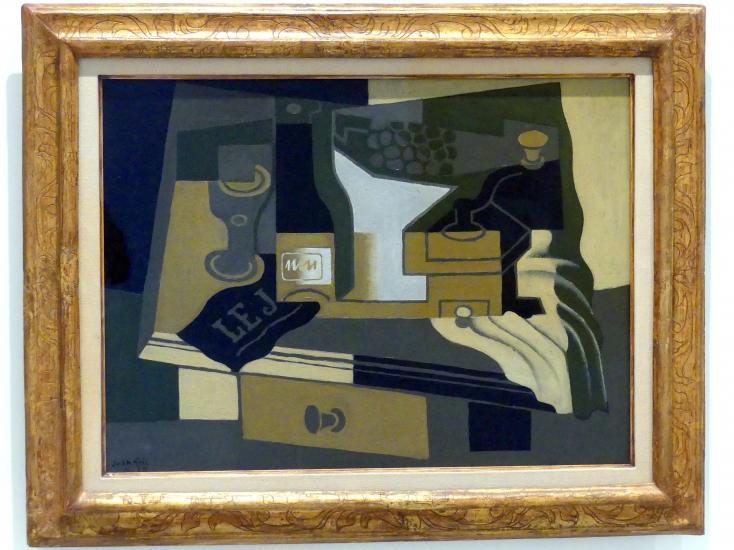 Juan Gris: Kaffeemühle, 1920