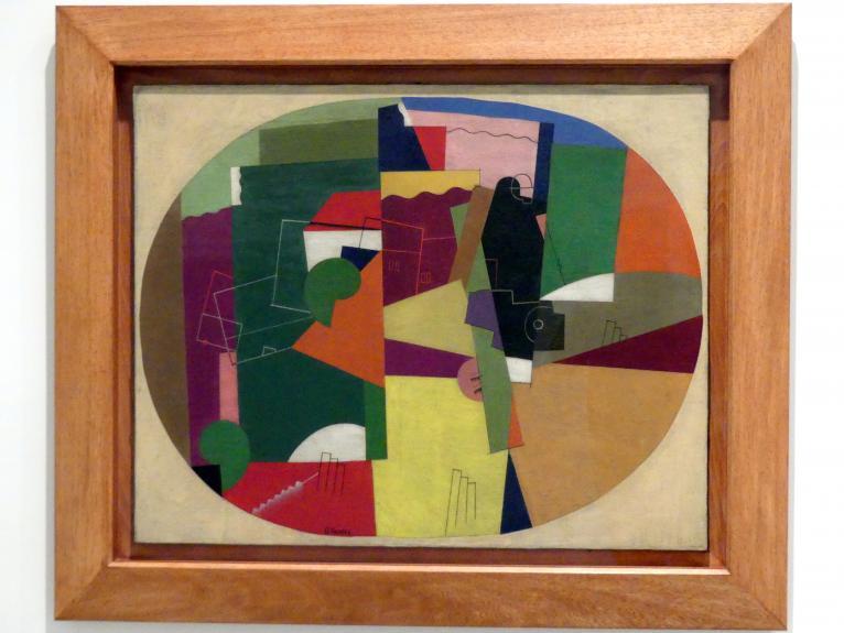 Georges Valmier: Landschaft, 1920