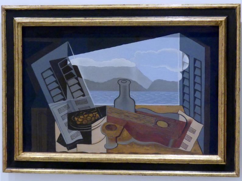 Juan Gris: Offenes Fenster, 1921