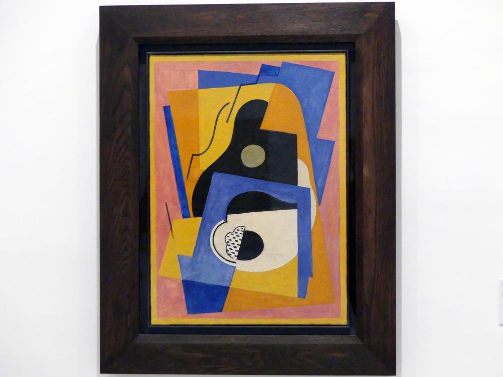 Albert Gleizes: Komposition mit Gitarre, 1921